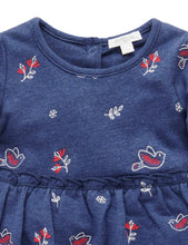 Load image into Gallery viewer, Pure Baby | Chalet Dress - Navy Print