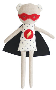 Super Hero Ted Rattle - 30cms
