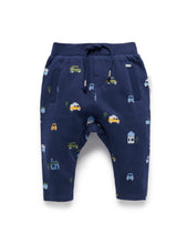 Load image into Gallery viewer, Pure Baby | Track Pants - Delivery Van Print