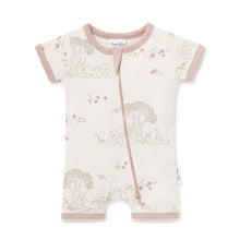 Load image into Gallery viewer, Aster & Oak | Tree of Life Zip Romper - Blush