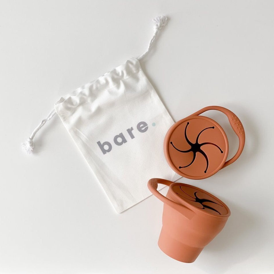 Bare the Label | Snackie Cup - Clay