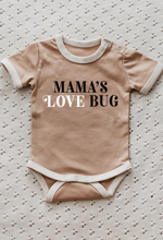 Load image into Gallery viewer, *PREORDER* Piper Bug | Mamas Love Bug Romper / Tee - Peach