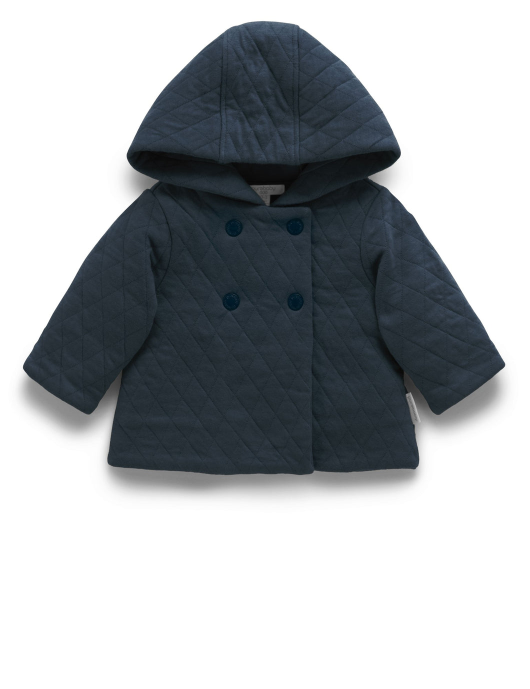 Pure Baby | Quilted Jacket - Navy