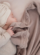 Load image into Gallery viewer, Ziggy Lou | Heirloom Knit Blanket - Dusty Rose