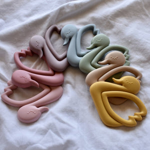 Bella Zailea | Swan Teether - Ether