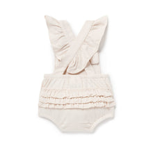 Load image into Gallery viewer, Aster & Oak | Tree of Life Ruffle Playsuit - Blush