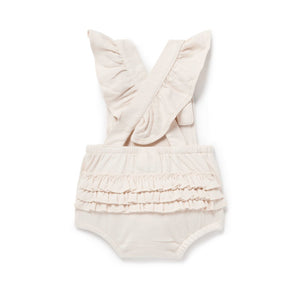 Aster & Oak | Tree of Life Ruffle Playsuit - Blush
