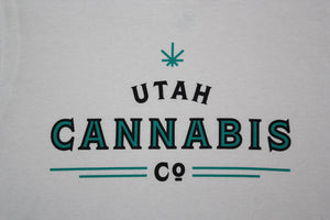 Utah Cannabis Co. Blue Shirt
