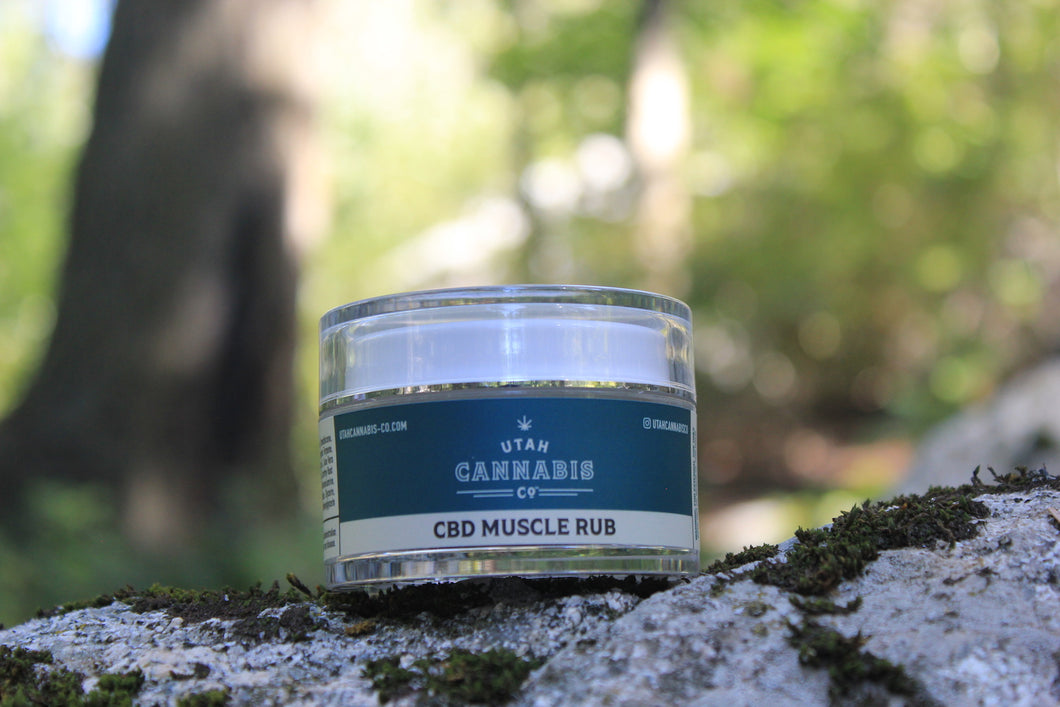Utah Cannabis Co. CBD Muscle Rub Wholesale