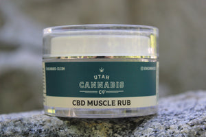 Utah Cannabis CBD Muscle Rub Wholesale