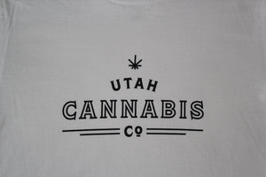 Utah Cannabis Co. White Shirt