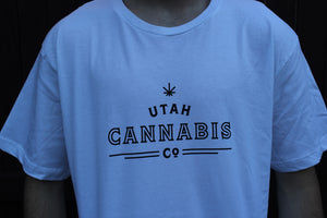 Utah Cannabis Company White Shirt