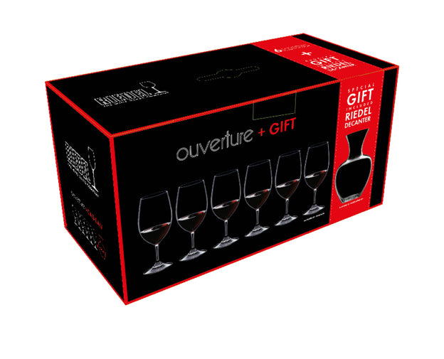 RIEDEL OUVERTURE + GIFT