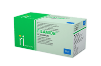 Meril Filamide Nylon Sutures USP 6-0, 3/8 Circle Reverse Cutting I134-181