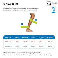 Sorgen Royale Class 2 Knee Length Compression Stockings - Medium I146-32