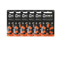 Widex Size 13 Batteries for Hearing Aids (PR48) - Pack of 90 I121-24