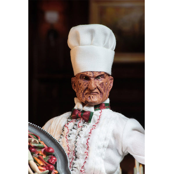 "A NIGHTMARE ON ELM STREET ""CHEF FREDDY"" CLOTHED 8"" FIGURE"