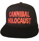 """CANNIBAL HOLOCAUST"" BLACK SNAPBACK HAT"