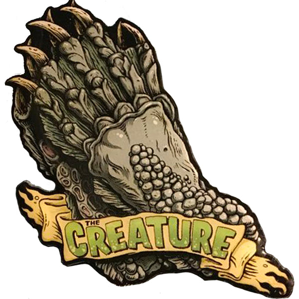 GHOULISH GARY CREATURE HANDS PIN