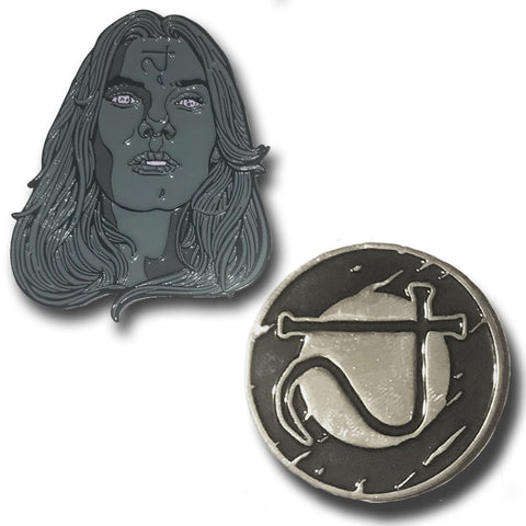 "GHOULISH GARY ""THE BEYOND"" PINS"
