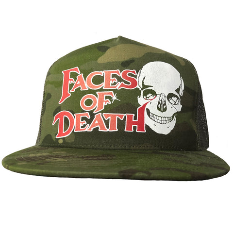 """FACES of DEATH"" JUNGLE CAMO HAT"