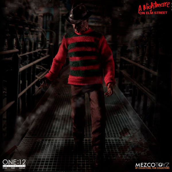 A NIGHTMARE ON ELM STREET One:12 Collective Freddy Krueger figure