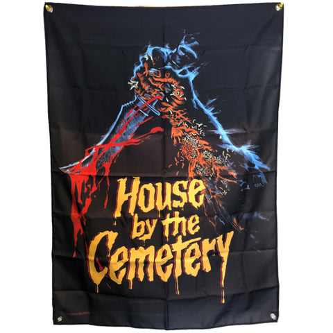 the HOUSE by the CEMETERY - TAPESTRY