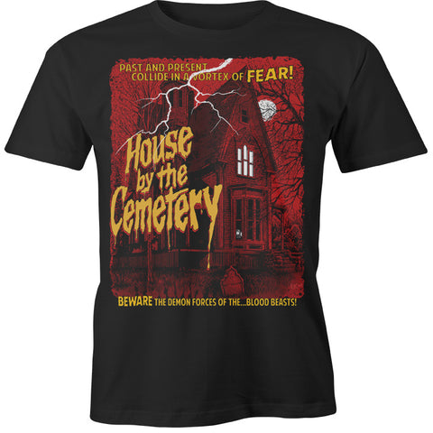 """HOUSE by the CEMETERY"" BEWARE SHIRT"