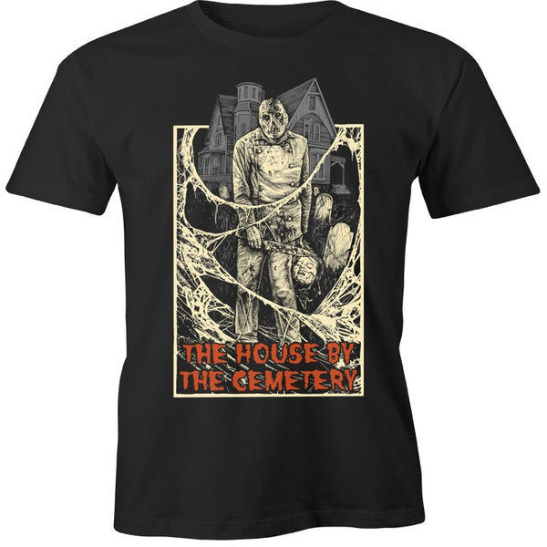 "HOUSE by the CEMETERY ""DR. FREUDSTEIN"" T-SHIRT"