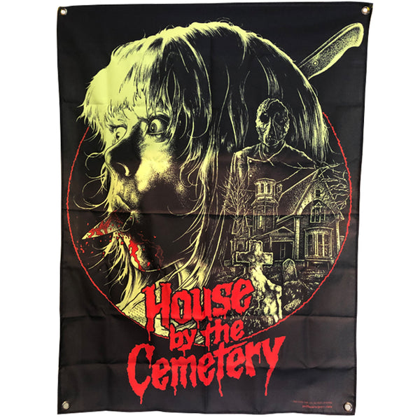 the HOUSE by the CEMETERY PYRO TAPESTRY