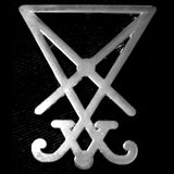 SIGIL OF LUCIFER PIN
