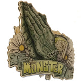 GHOULISH GARY PRAY FOR THE MONSTER PIN