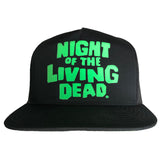"""NIGHT OF THE LIVING DEAD"" BLACK SNAPBACK"