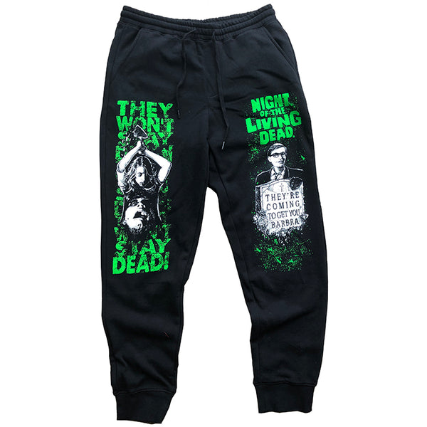 "NIGHT OF THE LIVING DEAD ""BARBRA"" JOGGER SWEATS"