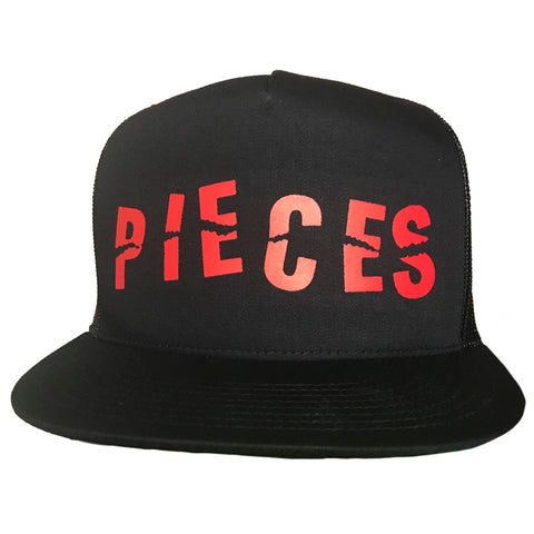 PIECES BLACK HAT