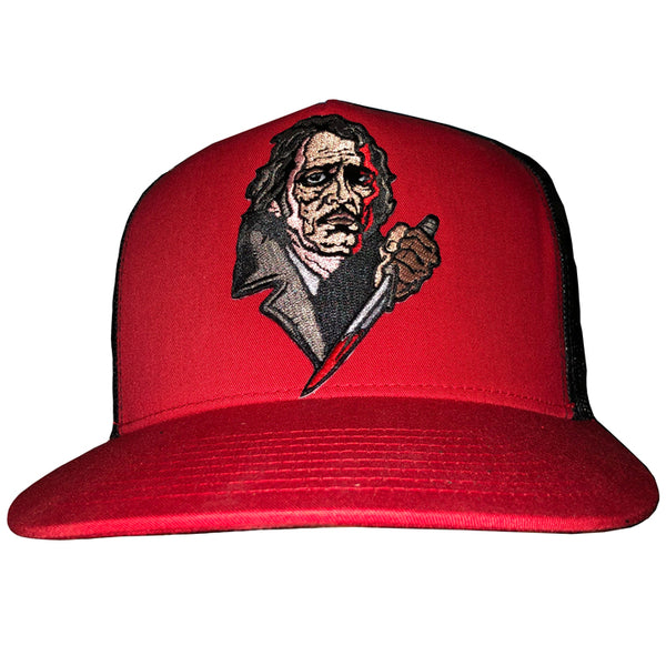 "MANIAC ""FRANK ZITO"" RED/BLK SNAPBACK HAT"