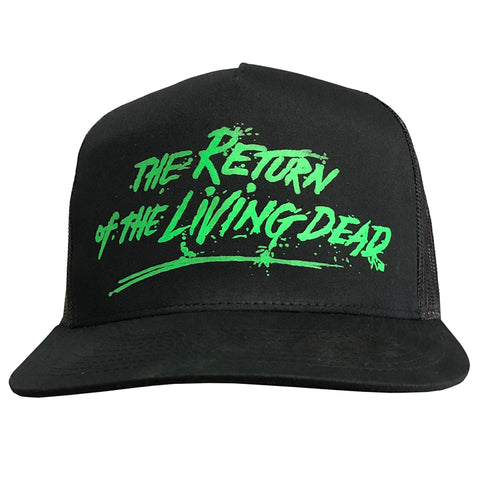 THE RETURN OF THE LIVING DEAD - GREEN LOGO SNAPBACK HAT