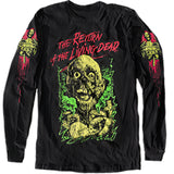 THE RETURN of the LIVING DEAD LONG SLEEVE SHIRT