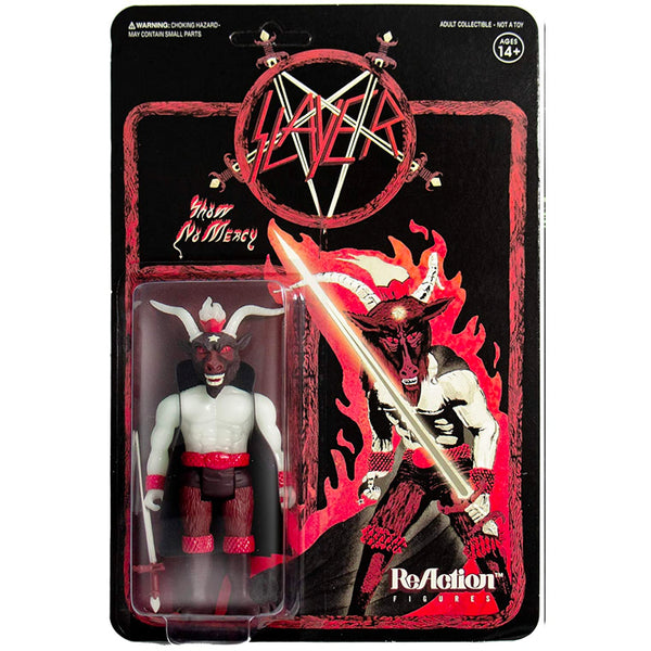 "SLAYER Shoe no Mercy (Glow in the Dark) - 3.75"" ReAction Figure"