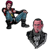 Return of the Living Dead - SUICIDE & TRASH pin set