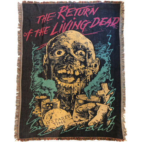 PREORDER - THE RETURN OF THE LIVING DEAD- TARMAN WOVEN BLANKET
