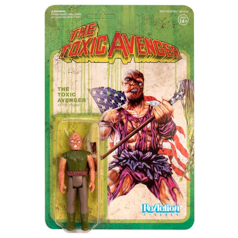 "The TOXIC AVENGER - 3.75"" ReAction Figure"