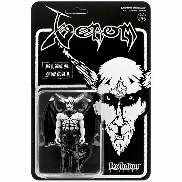 "VENOM - BLACK METAL 3.75"" ReAction Figure"