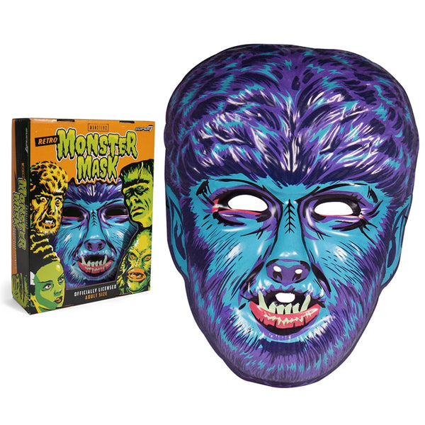THE WOLFMAN (BLUE)- MASK
