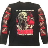 ZOMBIE LONG SLEEVE SHIRT