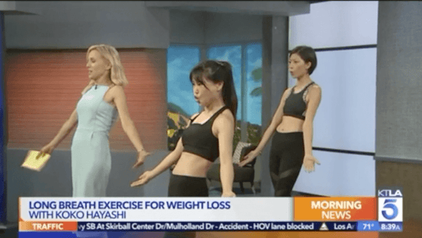 KTLA Morning News: Could weight loss be as simple as breathing?