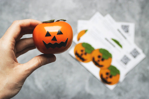 Happy Halloween with Persimmons