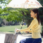 Special Umbrellas that can attach to bikes