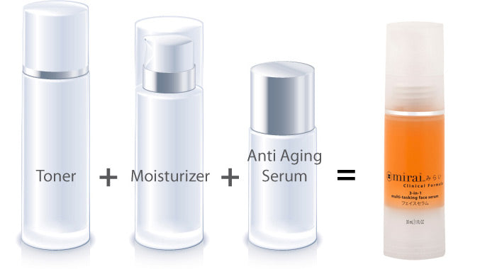 3-In-1 Multi-Tasking Face Serum With Astaxanthin