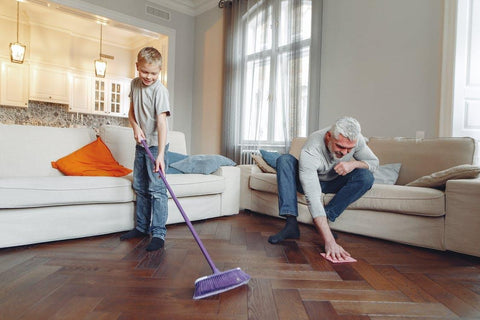Health benefits of spring cleanup